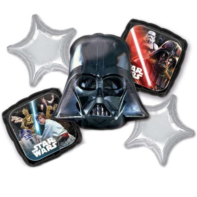 "Balon foliowy ""Star Wars Classic"", AMSCAN, zestaw"