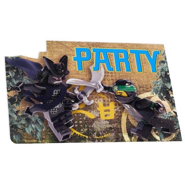 Zaproszenia Urodzinowe Lego Ninjago Amscan 8 Szt 9902629 Www