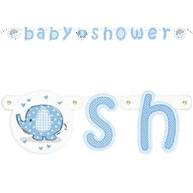"Girlanda ""Baby Shower Boy"", UNIQUE, 160 cm"