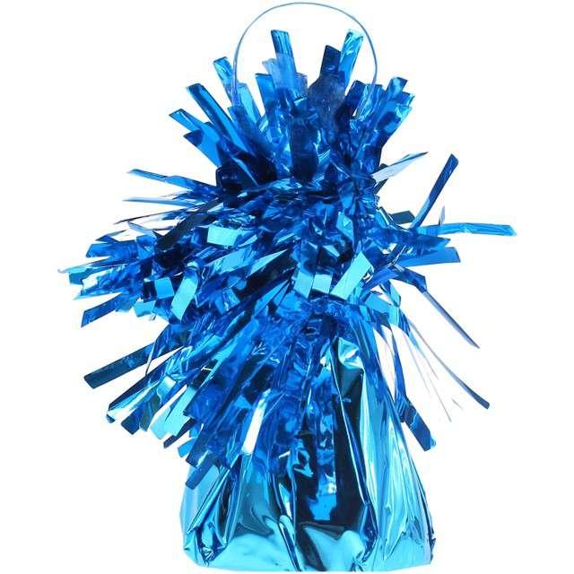Obciążnik do balonów, foliowy, niebieski