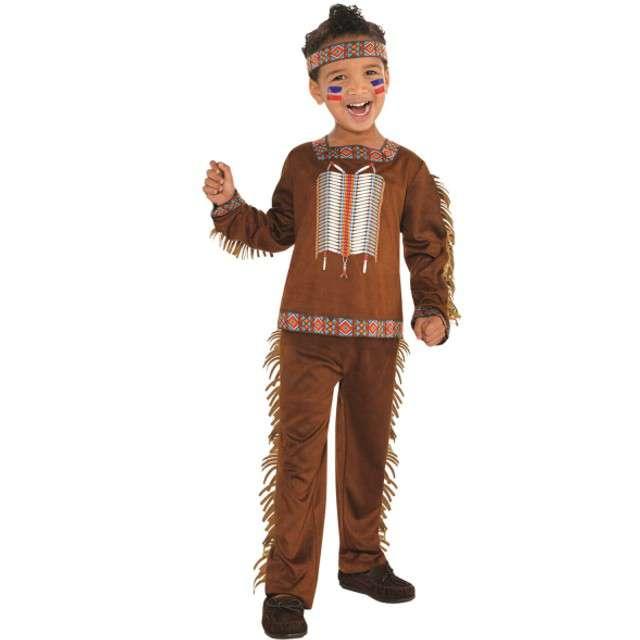 """Strój dla dzieci """"Indianin"""", AMSCAN, rozm. 6-8 lat"""