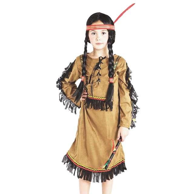 """Strój dla dzieci """"Indianka"""", PartyTino, rozm. 110/116 cm"""