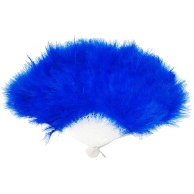 """Wachlarz """"Pióra"""", niebieski, PartyTino"""