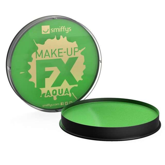 "Make-up party ""Farba do Makijażu"", zielona jasna, Smiffys, 16 ml"