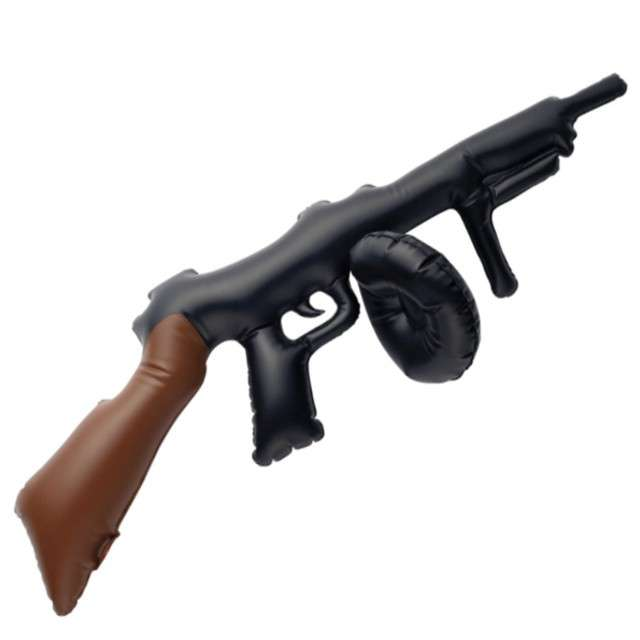 """Dmuchaniec """"Karabin - Tommy Gun"""", Smiffys, 75 cm"""