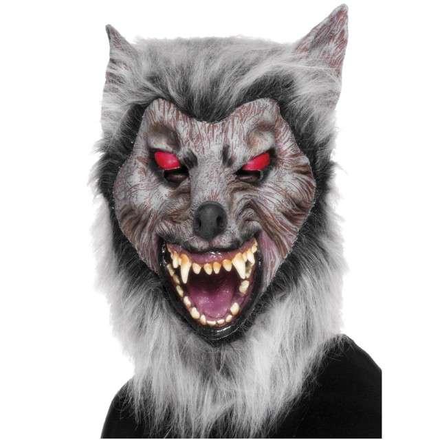 """Maska """"Wilkołak włochaty"""", lateksowa, Smiffys"""