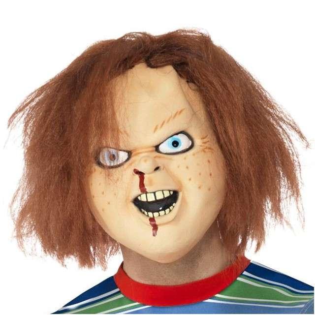 """Maska """"Laleczka Chucky"""", lateksowa, SMIFFYS"""