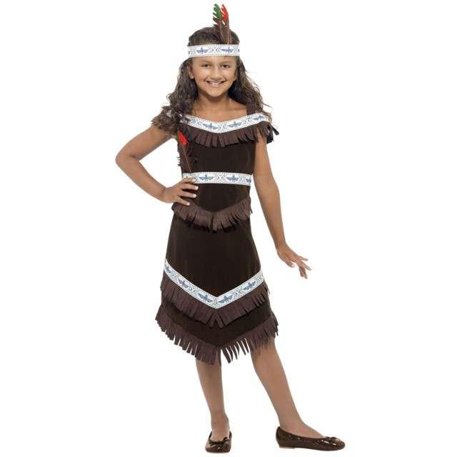 """Strój dla dzieci """"Indianka"""", SMIFFYS, rozm. 7-9 lat"""