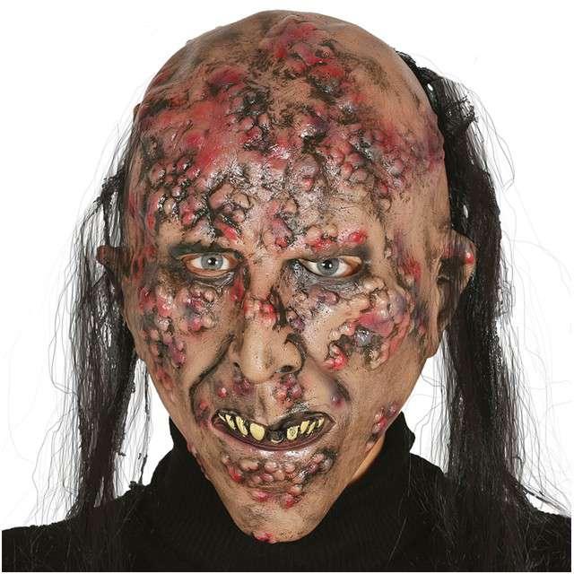 """Maska """"Chory Zombie"""", GUIRCA, lateksowa"""