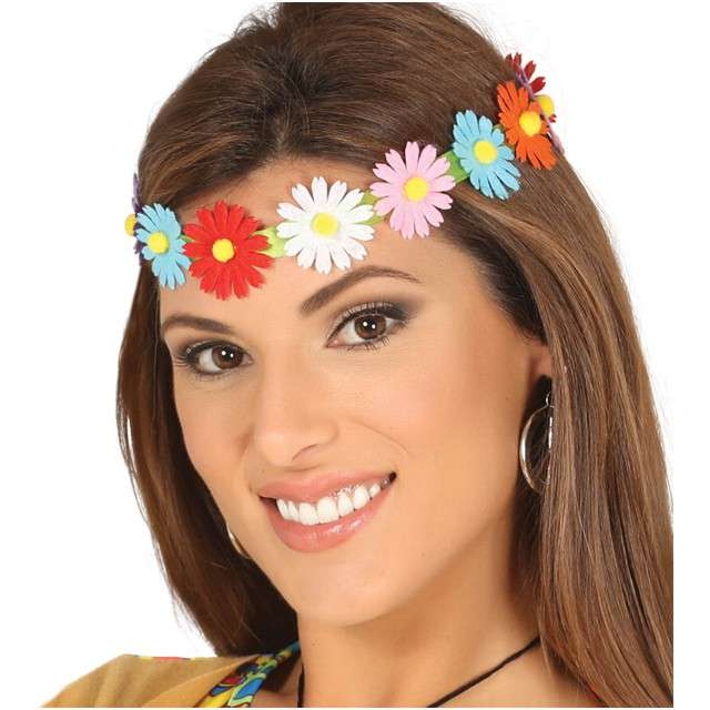 """Opaska party """"Wianek z kwiatkami"""", GUIRCA"""