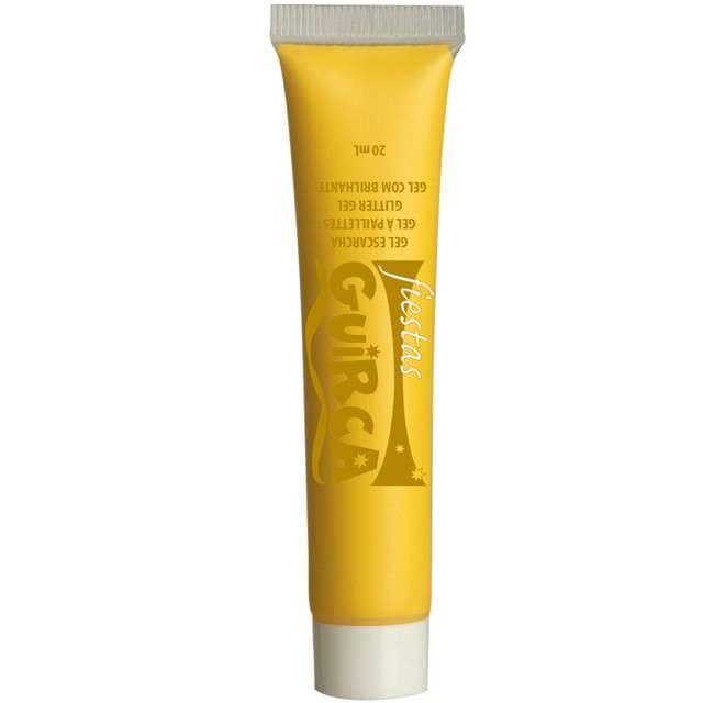"Make-up party ""Farba do Makijażu"", żółta, GUIRCA, 20 ml"
