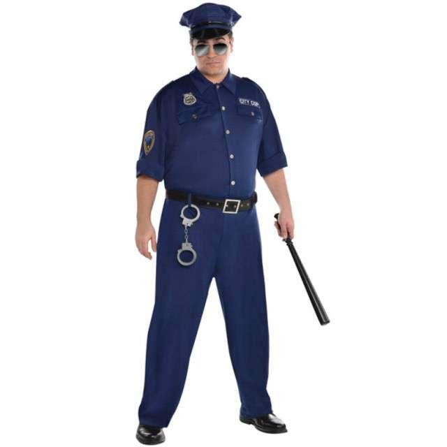 """Strój dla dorosłych """"Policjant"""", AMSCAN, rozm. XL"""