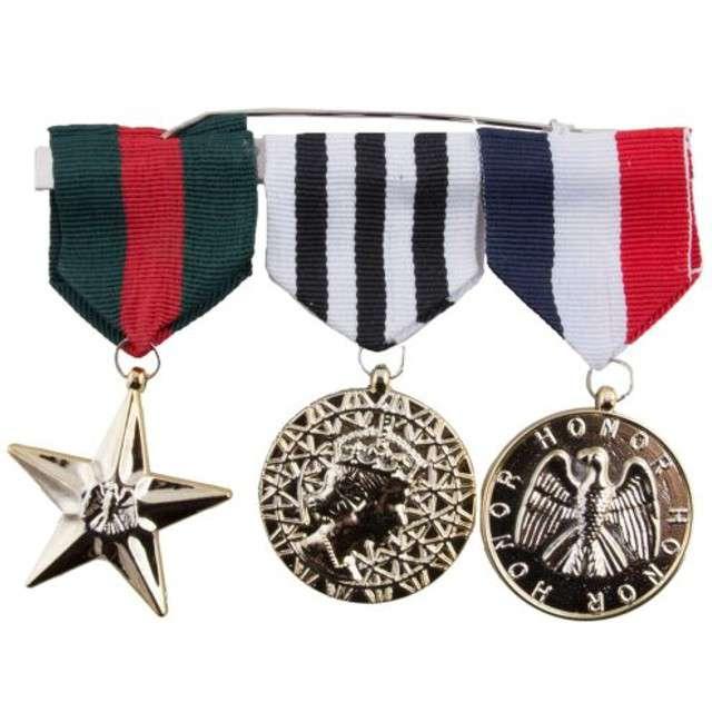 """Zestaw """"3 Medale Żołnierza"""", FunnyFashion"""