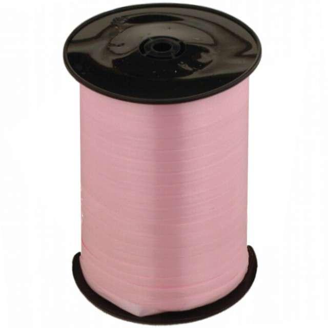 Wstążka do balonów, pastelowa, różowa, 0,5 cm x 500 m