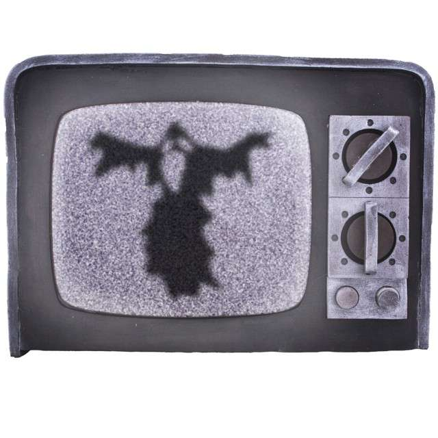 """Dekoracja """"Straszny Telewizor z Horroru, FunnyFashion"""