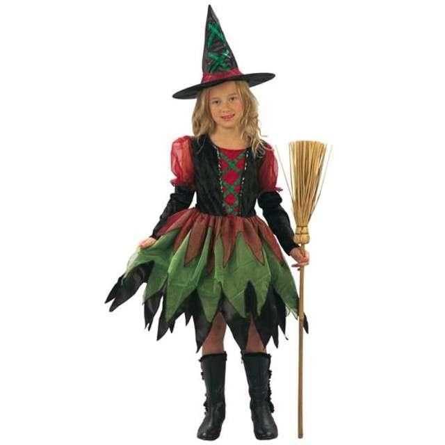 """Strój dla dzieci """"Czarownica w kapeluszu"""", PartyTino, 98-104 cm"""