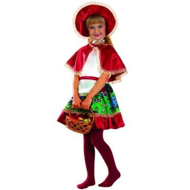"""Strój dla dzieci """"Czerwony Kapturek z pelerynką"""", PartyTino, 98-104 cm"""