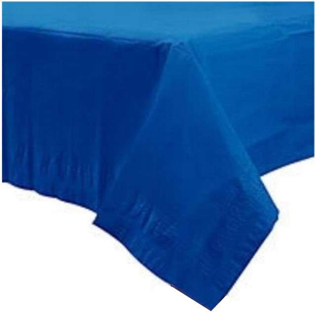 """Obrus papierowy """"Premium"""", niebieski, AMSCAN, 274 x 137 cm"""