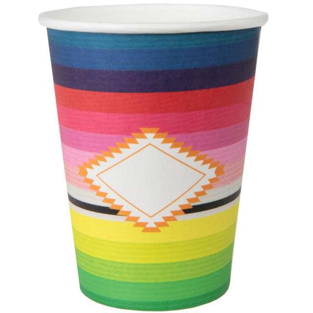 """Kubeczki papierowe """"Mexico"""", SANTEX, 250 ml, 10 szt"""