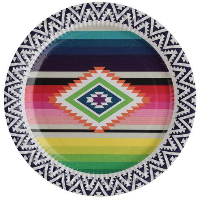 """Talerzyki papierowe """"Mexico"""", SANTEX, 23 cm, 10 szt"""