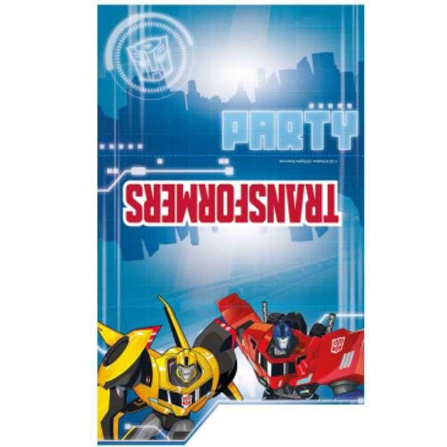 Zaproszenia Urodzinowe Transformers Amscan 8 Szt 9901309 Www