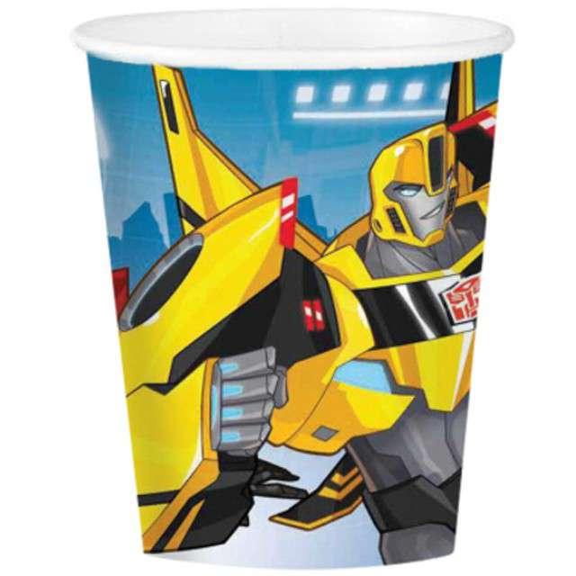 """Kubeczki papierowe """"Transformers RID"""", 266 ml, 8 szt"""