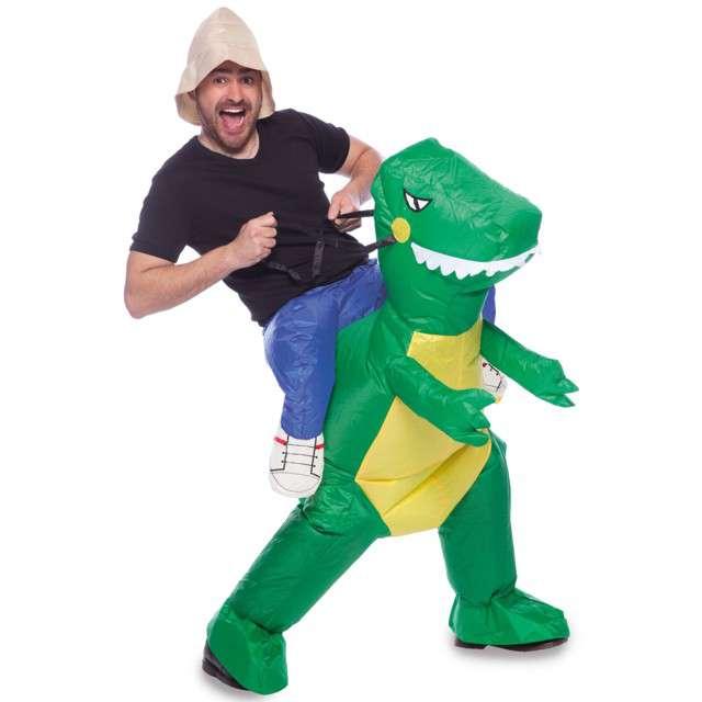 "Strój dla dorosłych ""Dinozaur"", FOLAT, nadmuchiwany, rozm. uniwer."
