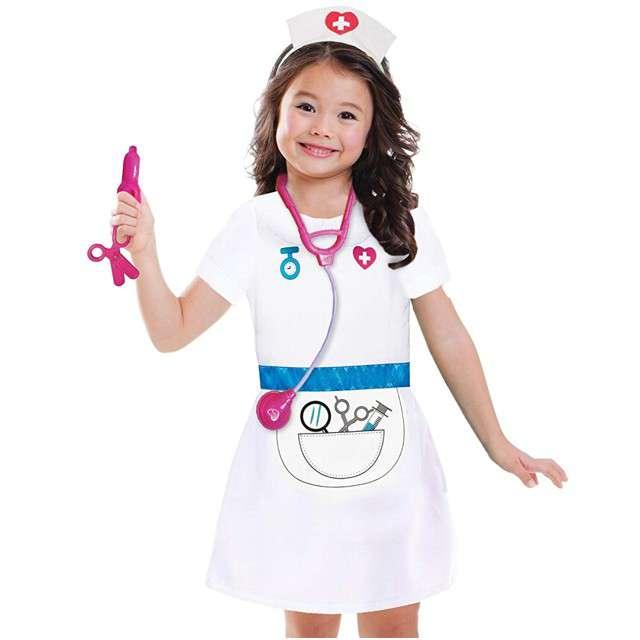 """Strój dla dzieci """"Pielęgniarka"""", AMSCAN, rozm. 4-6 lat"""