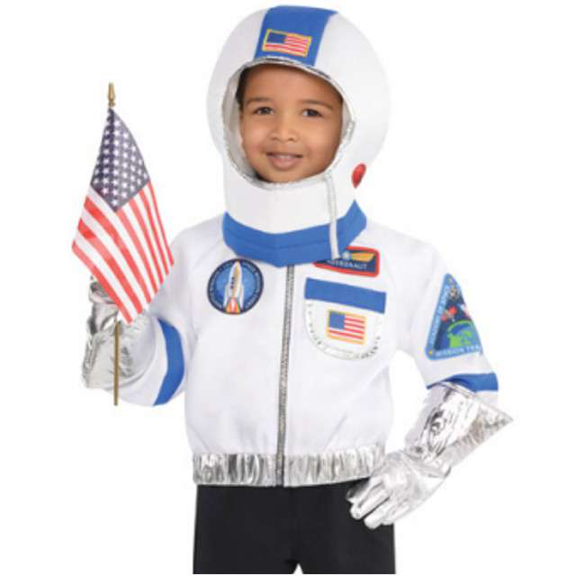 """Strój dla dzieci """"Astronauta"""", AMSCAN, rozm. 4-6 lat"""