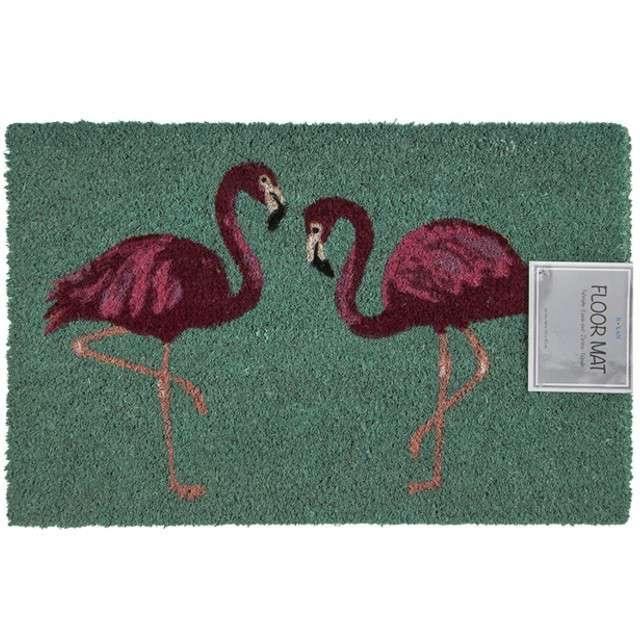 "Wycieraczka ""Flamingi"", OOTB, 60 x 40 cm"