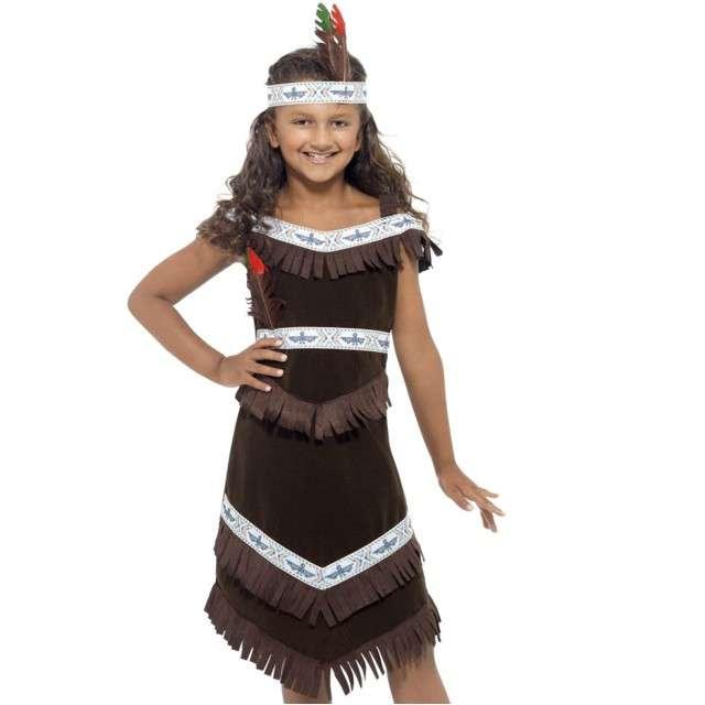 """Strój dla dzieci """"Indianka"""", SMIFFYS, rozm. 4-6 lat"""