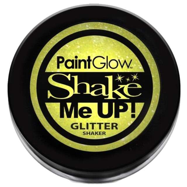 Make-up party Brokat do Makijażu żółty PaintGlow 5 g