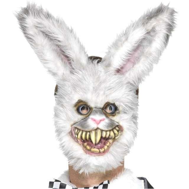 "Maska ""Biały Królik - Halloween"", SMIFFYS"