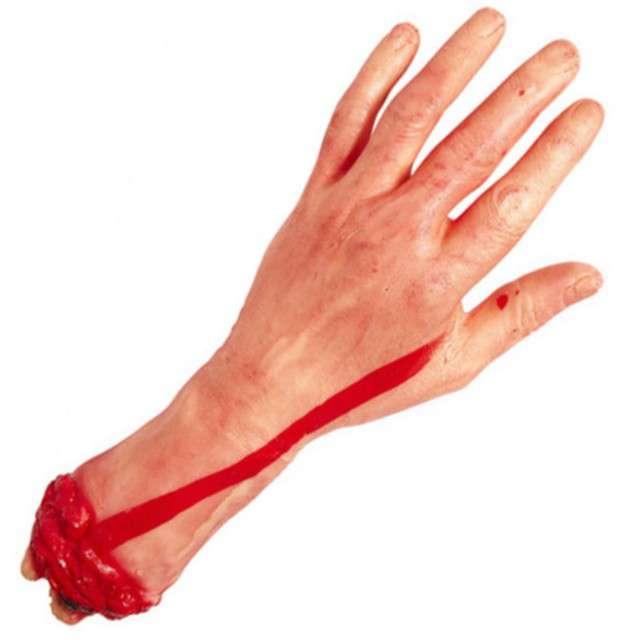 """Dekoracja """"Odcięta dłoń"""", GUIRCA, 30 cm"""