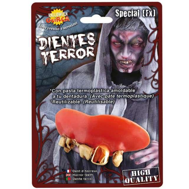 """Sztuczne zęby """"Zombie - termoplastyczne"""", GUIRCA"""