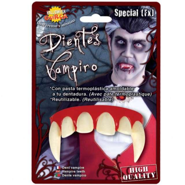 """Sztuczne zęby """"Wampir - termoplastyczne"""", GUIRCA"""