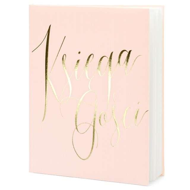 """Księga Gości """"Klasyczna"""", PartyDeco, 20 x 24,5 cm, 22 kartki"""