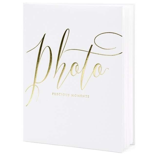 Album na zdjęcia Precious Moments PartyDeco 20 x 245cm biały 22 kartki