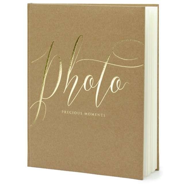 Album na zdjęcia Precious Moments PartyDeco 20 x 245cm kraft 22 kartki