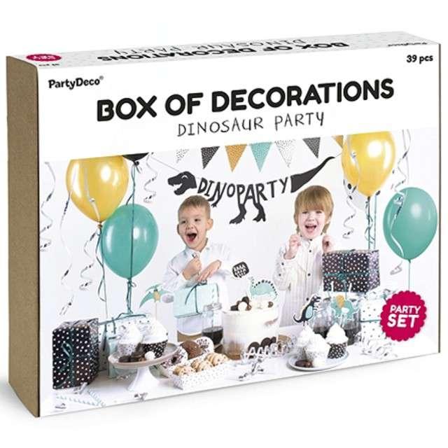 """Zestaw dekoracji """"Dinozaur Party"""", PartyDeco"""