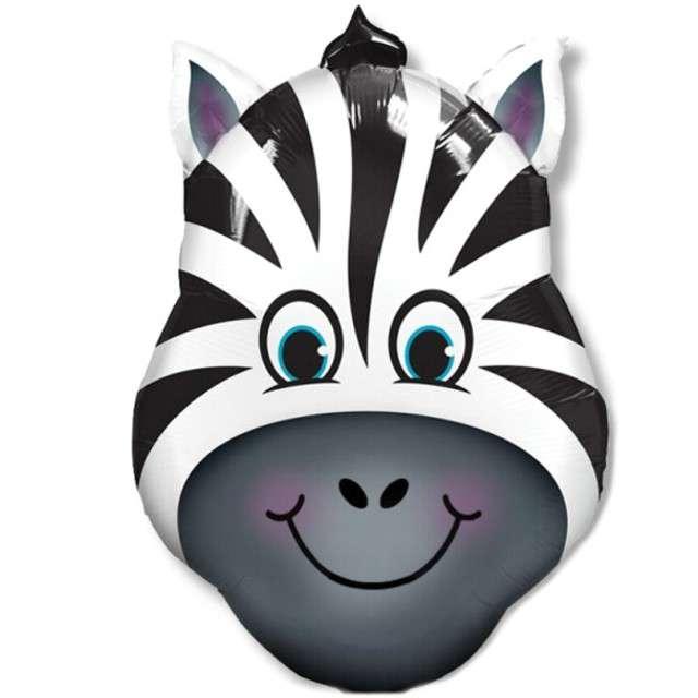"""Balon foliowy """"Zebra"""", Dekoracje Polska, 14"""" SHP"""