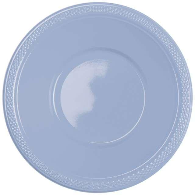 "Miska plastikowa ""Diamond"", niebieskie pastelowe, 355 ml, 10 szt"