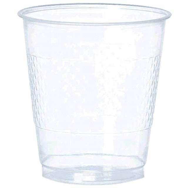 "Kubeczki plastikowe ""Diamond"", AMSCAN, 355 ml, transparentne, 20 szt"