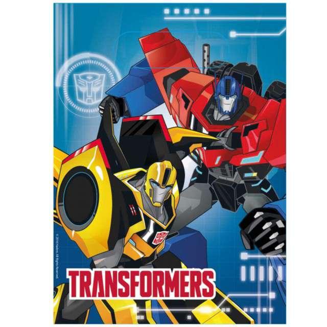 "Torebki foliowe ""Transformers RID"", AMSCAN, 8 szt"