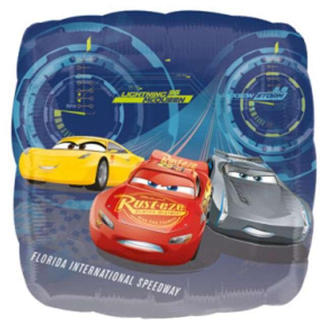 "Balon foliowy ""Cars 3 Zygzak McQueen"", AMSCAN, 9"" SQR"