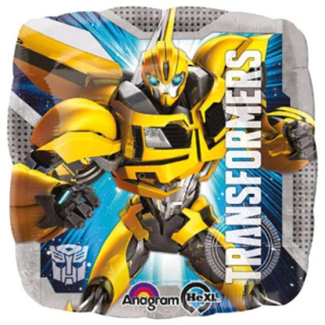 """Balon foliowy """"Transformers"""", AMSCAN, 17"""" SQR"""