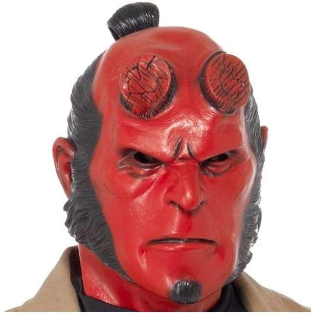 """Maska """"HellBoy"""", lateksowa, SMIFFYS"""