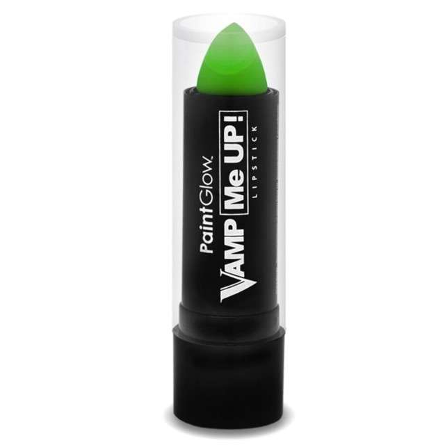 "Make-up party ""Pomadka Vamp Me Up"", zielona, PaintGlow, 4g"