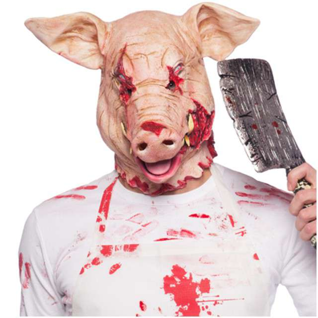 "Maska ""Świnia Morderca"", lateksowa, FOLAT"