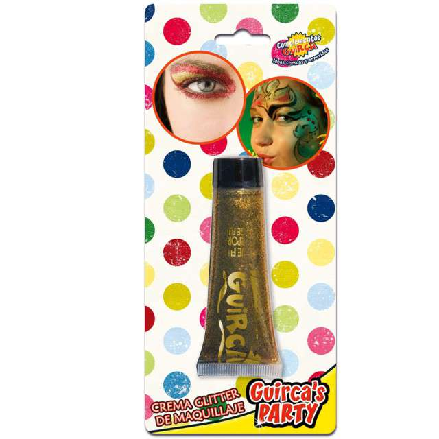 "Make-up party ""Brokat"", złoty, GUIRCA, 20 ml"
